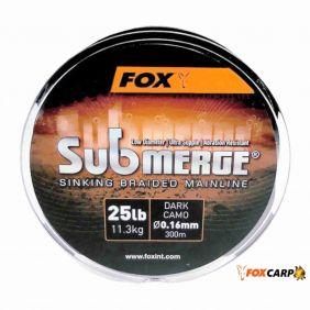 FOX Submerge Dark Camo Sinking Braid x 300m