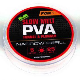 FOX Edges 5m refill Slow Melt 25mm Narrow