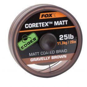 FOX Matt Coretex Gravelly Brown 20m